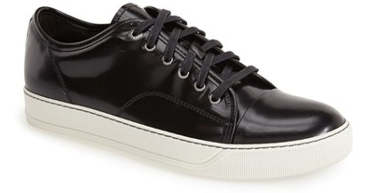 low-top sneakers - Black Lanvin KTjpoE