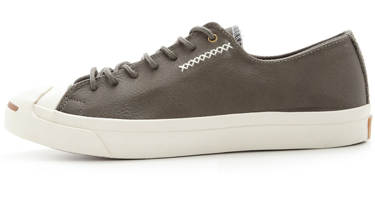 22f4abf68475 Lyst - Converse Jack Purcell Cross-Stitch Sneakers in Gray for Men