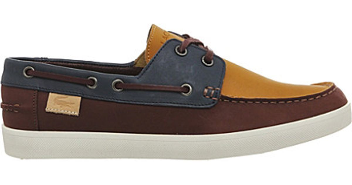 d3540b8c077d ... lacoste keellson suede lace up boat shoes ...