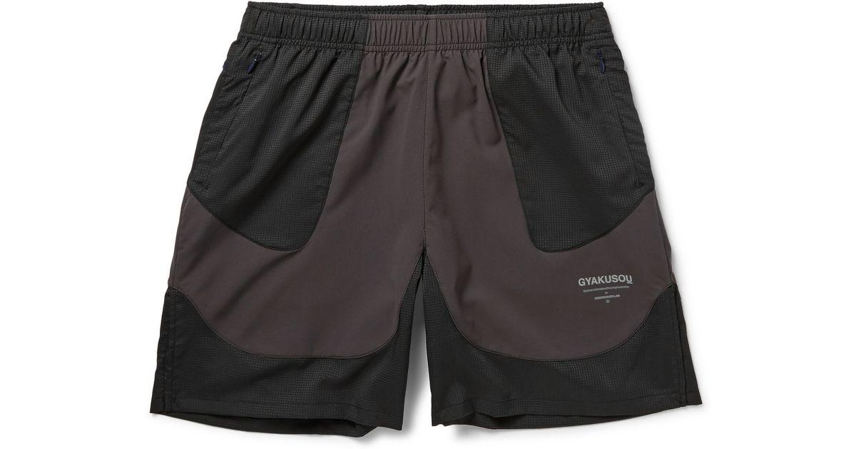 Lyst - Nike Gyakusou Running Shorts in Gray for Men 33af6b10c