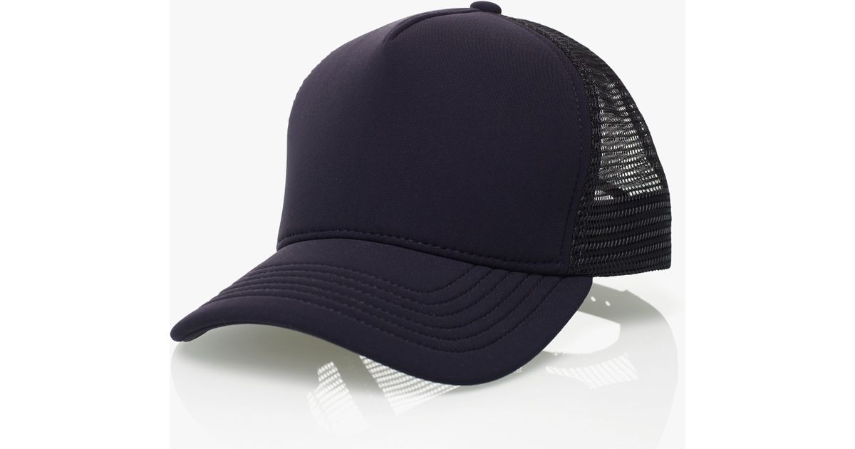 Lyst - James Perse Scuba Trucker Hat in Blue for Men 8bff2128a96