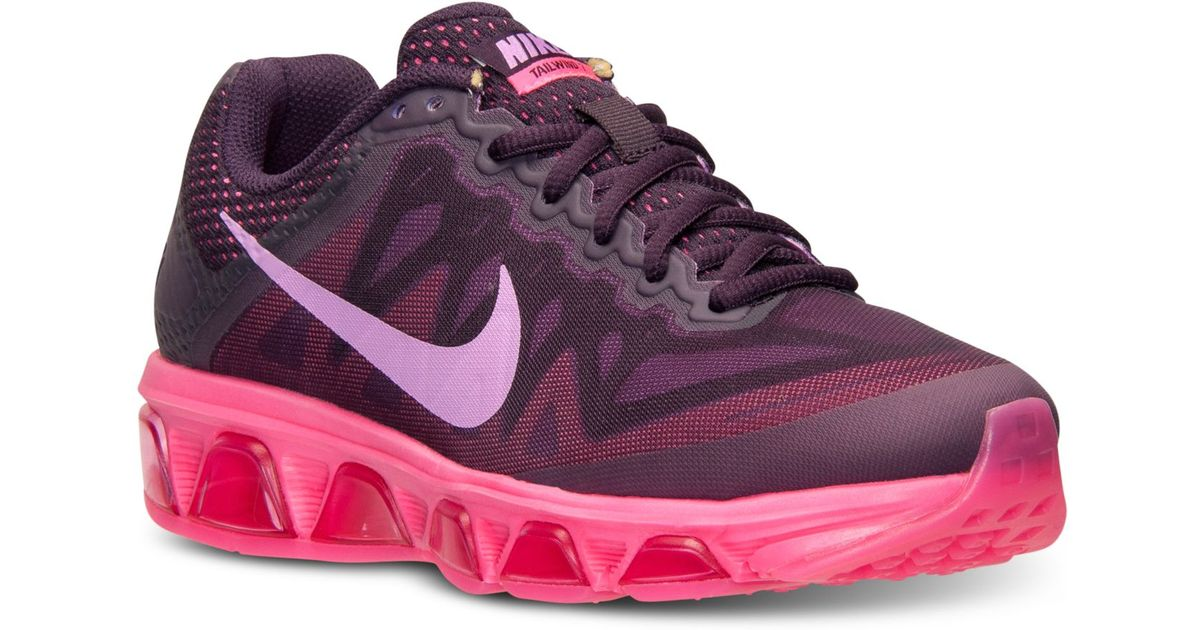 be3fcba989 Nike Women's Air Max Tailwind 7 Running Sneakers From Finish Line in Purple  - Lyst