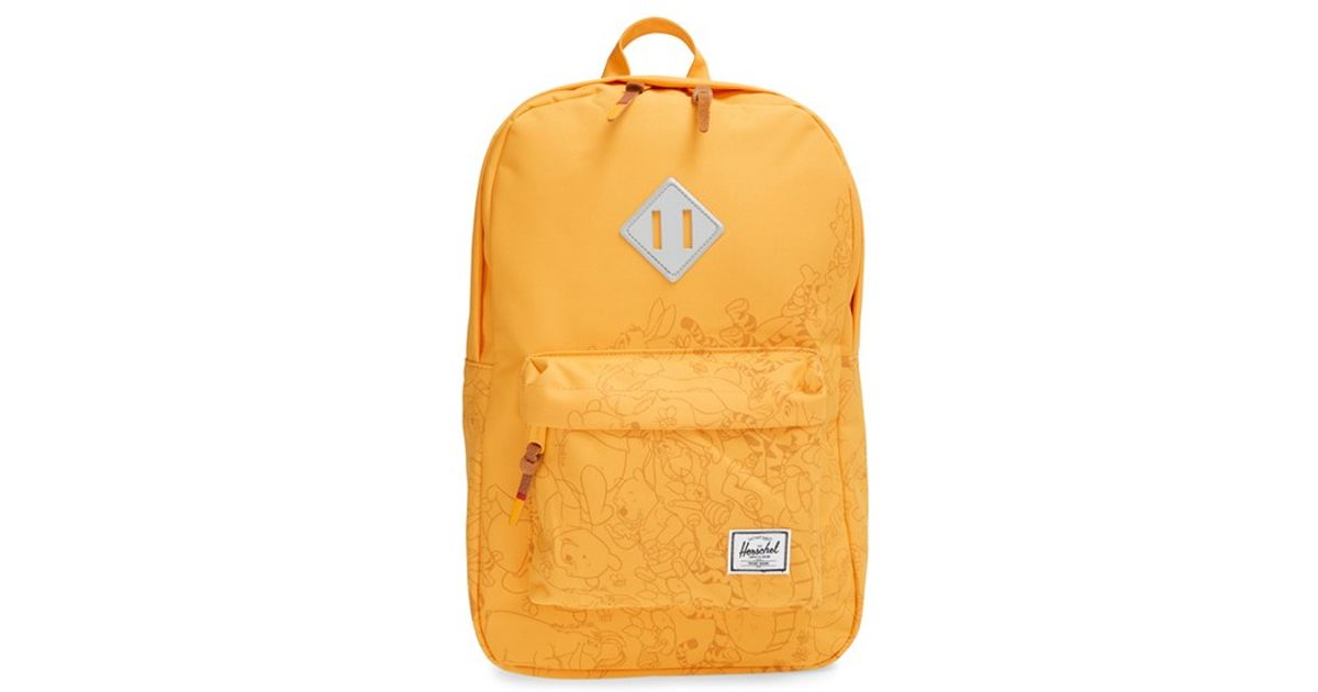a60b4492be0 Lyst - Herschel Supply Co.  heritage - Winnie The Pooh  Backpack in Yellow