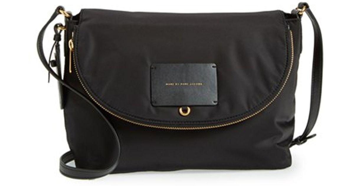 Lyst Marc By Jacobs Preppy Legend Natasha Nylon Crossbody Bag In Black