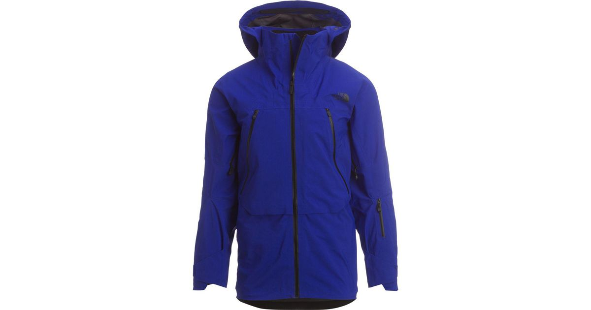 42fc915fc594 Lyst - The North Face Purist Triclimate Hooded Jacket in Blue for Men