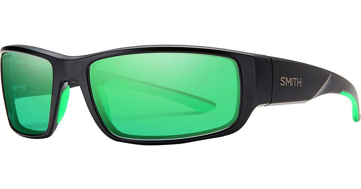 a6d33d3b0cba2 Lyst - Smith Survey Sunglasses in Green for Men - Save 23.25581395348837%