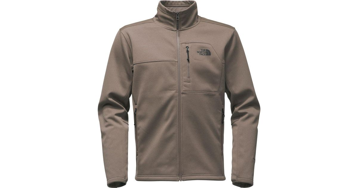 8139f51fb The North Face - Brown Apex Risor Softshell Jacket for Men - Lyst