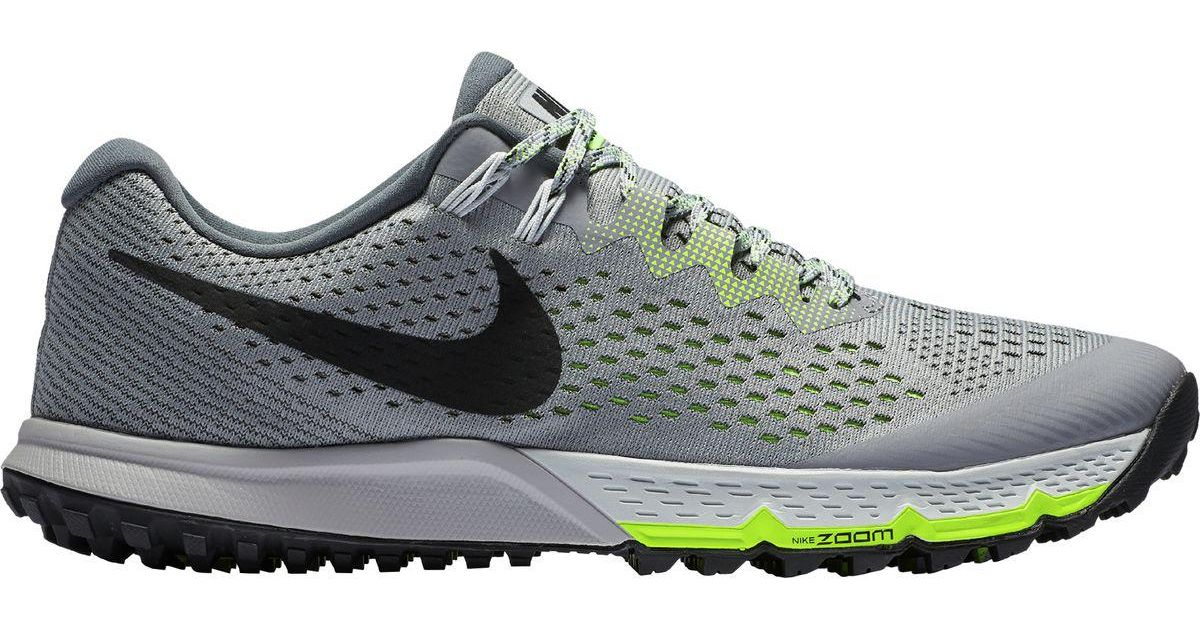 detailed look d622a 1b58a Nike Air Zoom Terra Kiger 4 Trail Running Shoe in Gray for Men - Lyst