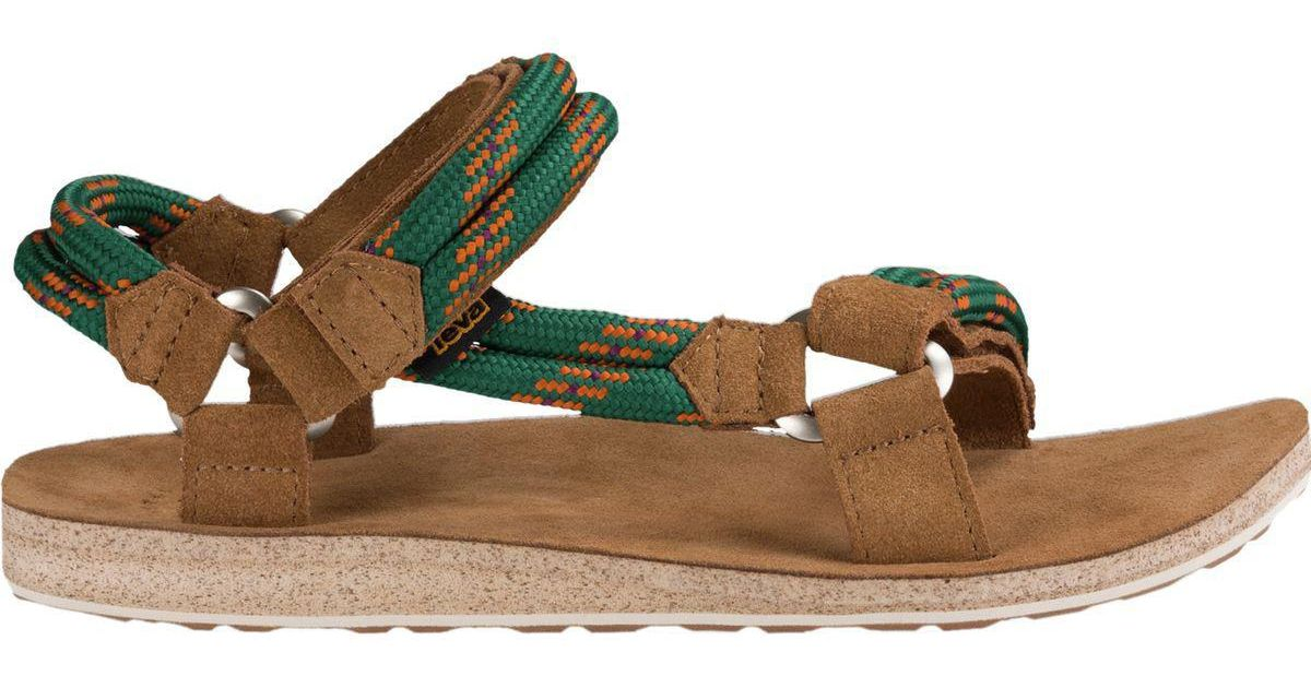 3984d6fee Lyst - Teva Original Universal Rope Sandal in Green for Men