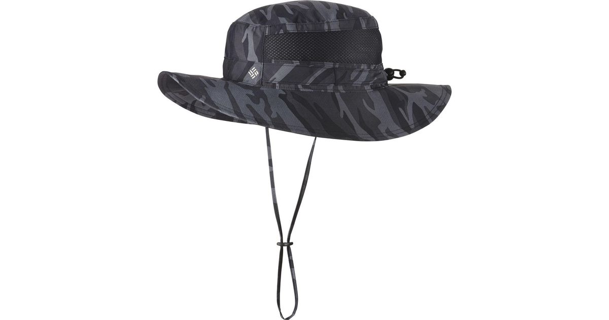 Lyst - Columbia Bora Bora Print Booney Hat in Black for Men d44ee1dd1e2
