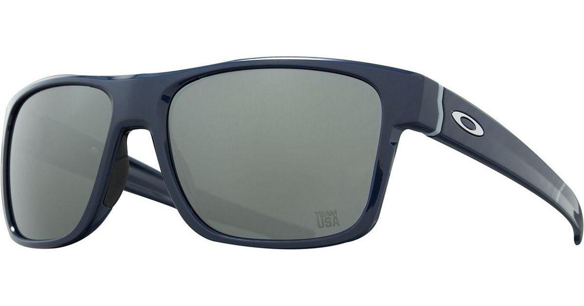 90f9e19307 Oakley Team Usa Crossrange Sunglasses in Blue for Men - Lyst