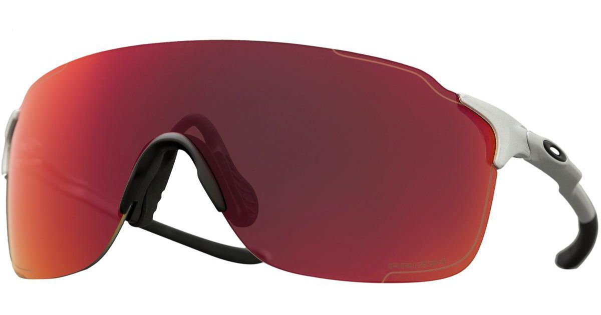 70d5df2b85f Lyst - Oakley Evzero Stride Prizm Sunglasses in Red