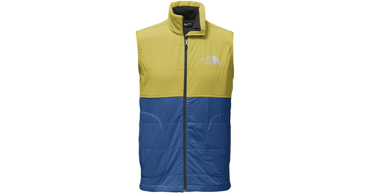 5d491bf6fe2e Lyst - The North Face Mountain Sweatshirt Vest in Blue for Men