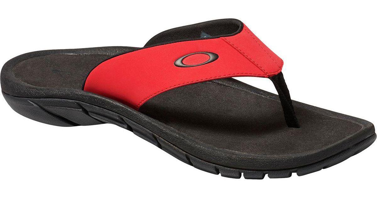 5e2006efde15 Lyst - Oakley Super Coil 2.0 Sandal in Red for Men