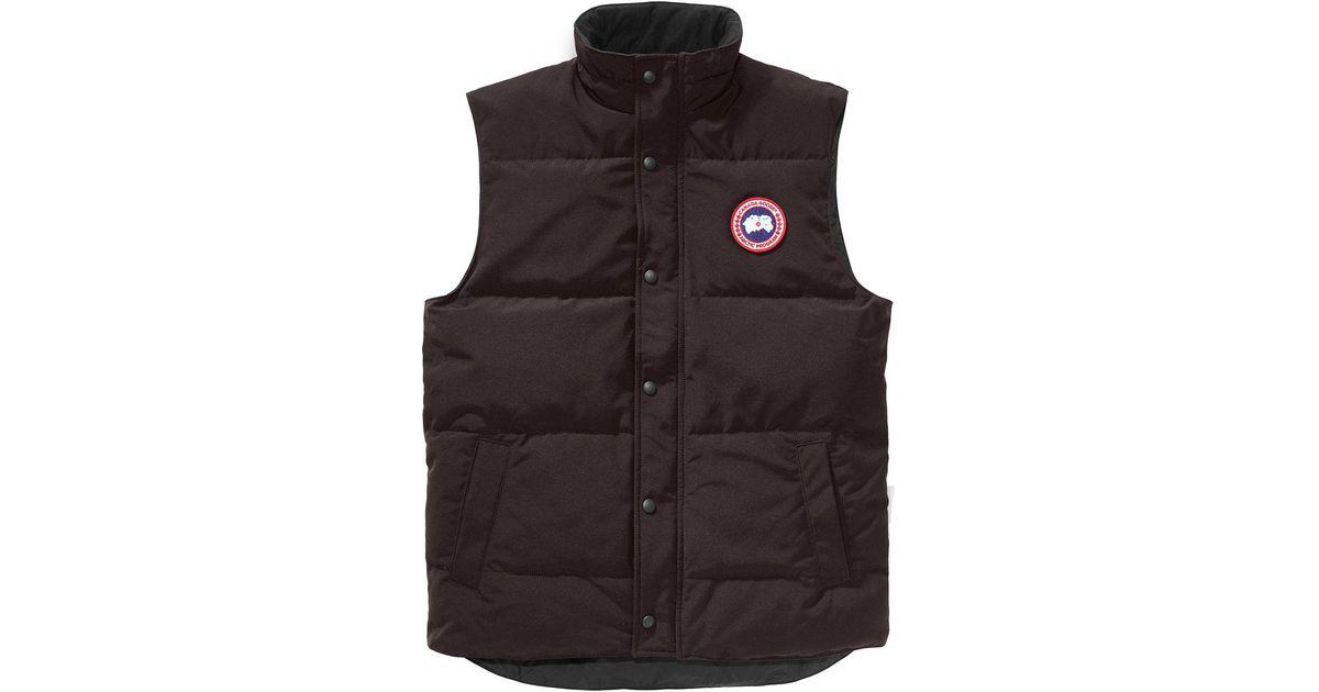 5501d25ace2eb9 Canada Goose Garson Down Vest for Men - Lyst