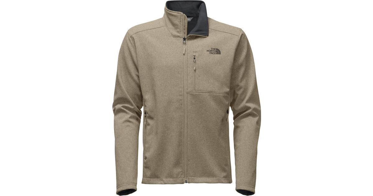 b2b65441e90 ... spain lyst the north face apex bionic 2 softshell jacket in natural for  men 9b355 526a9