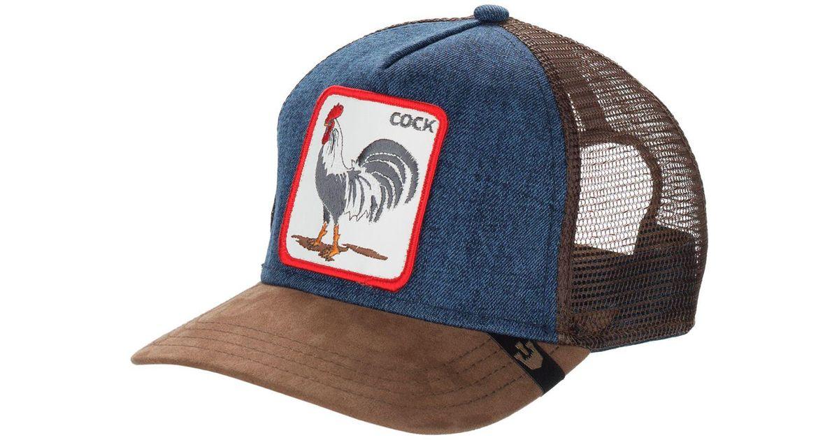 bf356da1ebf877 Lyst - Goorin Bros Animal Farm Trucker Hat - Barn Collection in Blue for Men