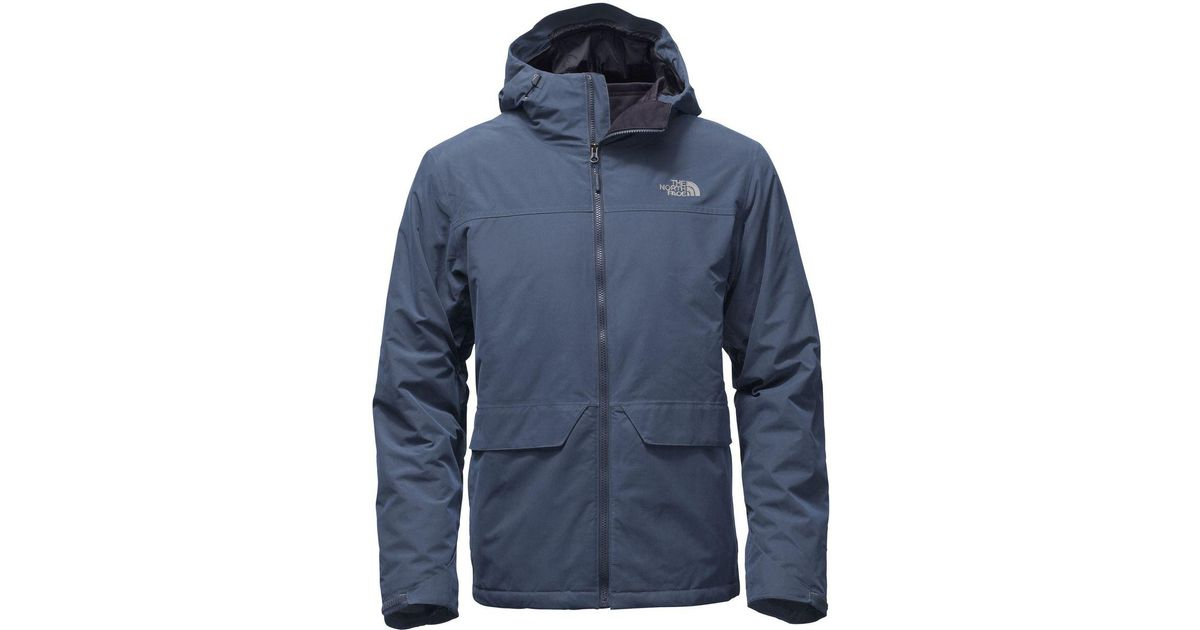 ... switzerland lyst the north face canyonlands 3 in 1 triclimate jacket in  blue for men 1afd1 382e17043