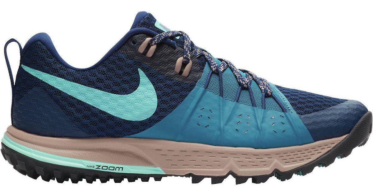 d9df9b3ff0d Lyst - Nike Air Zoom Wildhorse 4 Trail Running Shoe in Blue