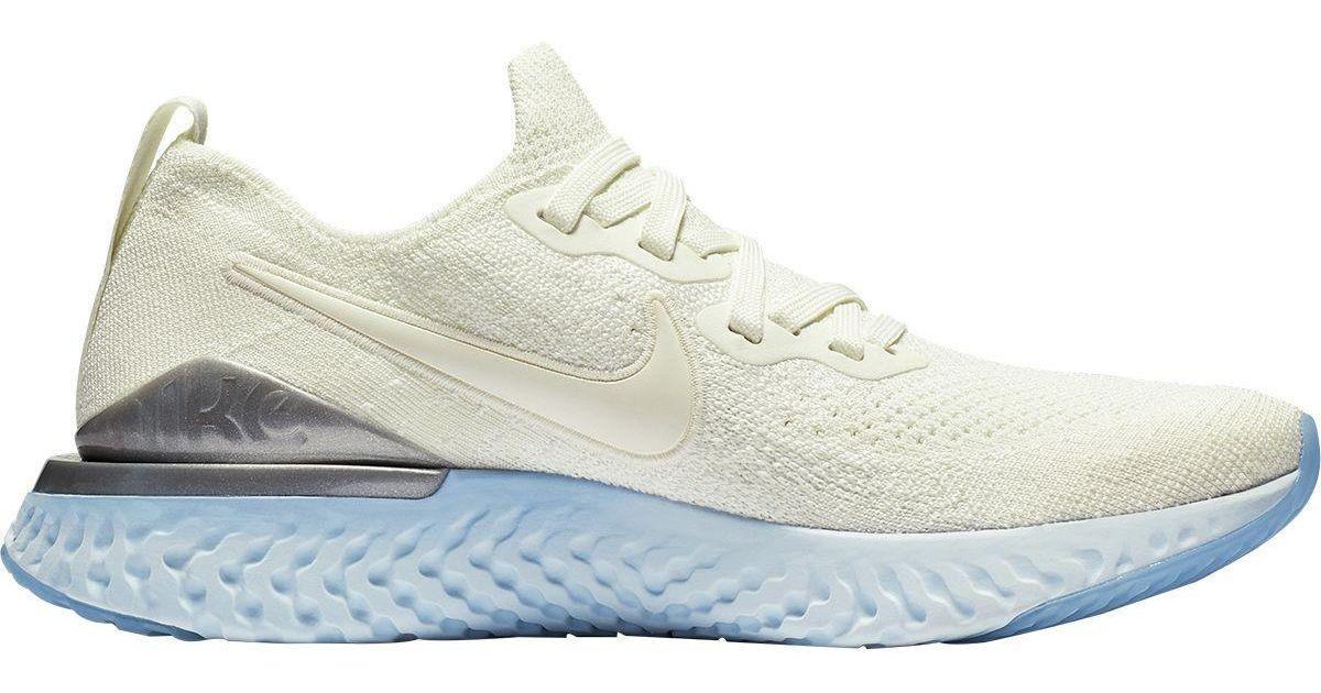 812612ba7d6 Lyst - Nike Epic React Flyknit 2 Running Shoe in Metallic