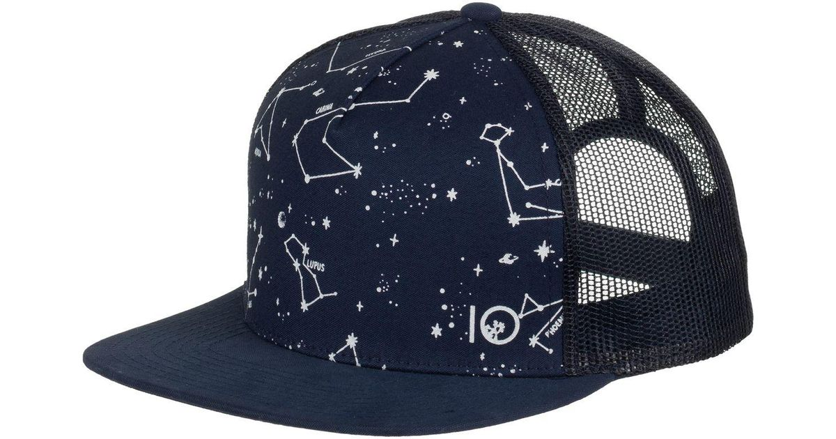 quality design 78407 dc664 ... free shipping lyst tentree terra trucker hat in blue for men 5b28d ef57c