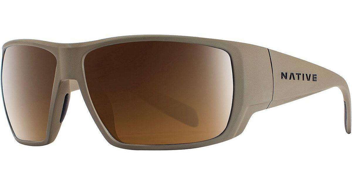 996a6f3f10 Lyst - Native Eyewear Sightcaster Polarized Sunglasses in Brown for Men
