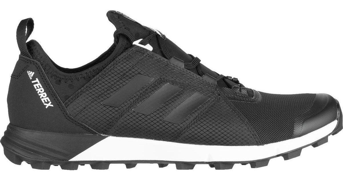 Lyst - Adidas Originals Terrex Agravic Speed Trail Running Shoe in Black  for Men - Save 30%