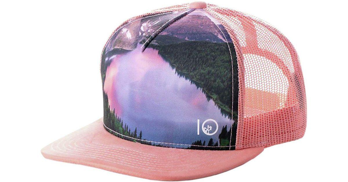 buy popular bea4c 0295c inexpensive obermeyer townie snapback hat 00c68 bebcf  order lyst tentree  outlook trucker hat in pink 8e090 254c8