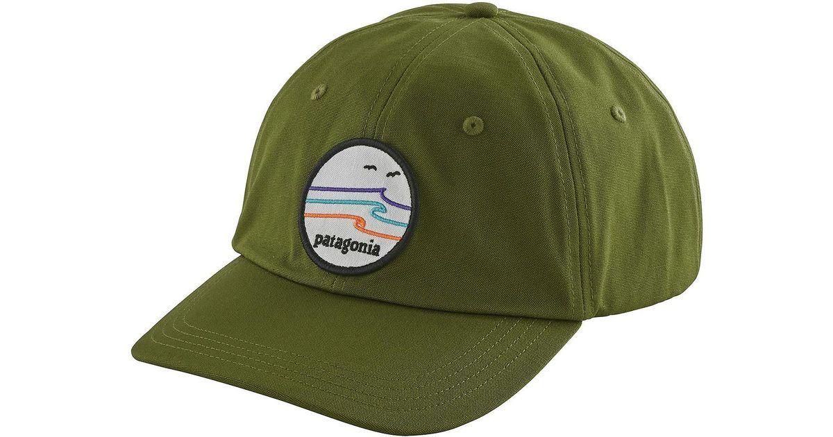 Lyst - Patagonia Tide Ride Trad Cap in Green for Men d05e8473723