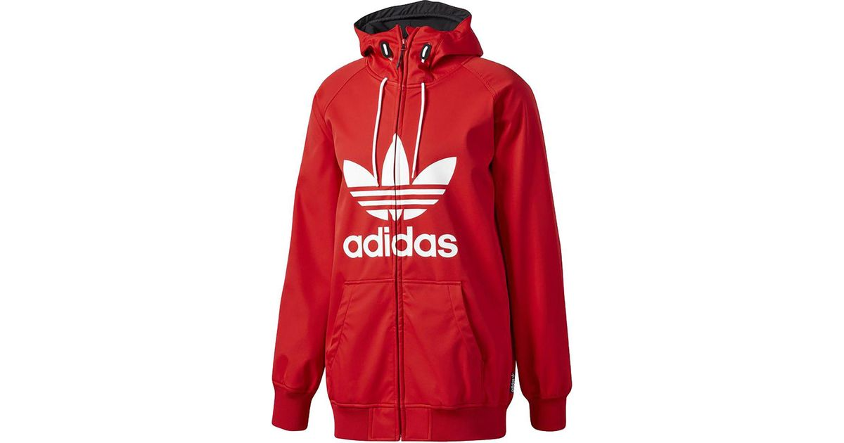 4808c79eb035 Lyst - Adidas Greeley Softshell Jacket in Red for Men