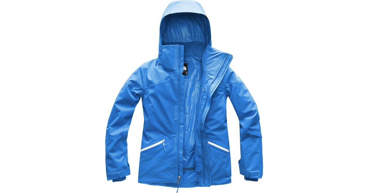 2be9e75f2 The North Face - Blue Lenado Insulated Jacket - Lyst