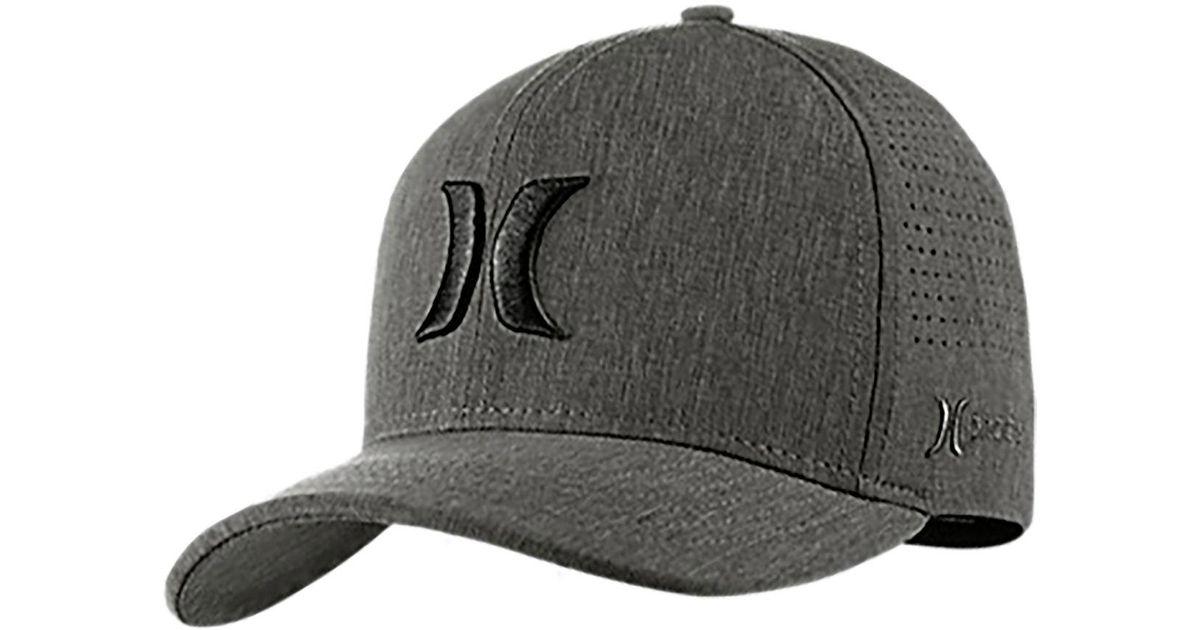 ... shop lyst hurley phantom vapor 3.0 hat in black for men 85816 6d854 035eab69d249