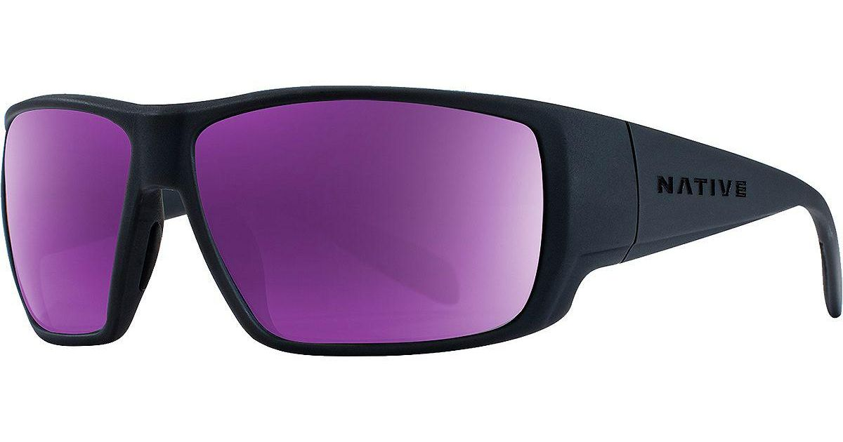 484f81b2f2 Lyst - Native Eyewear Sightcaster Polarized Sunglasses in Purple for Men