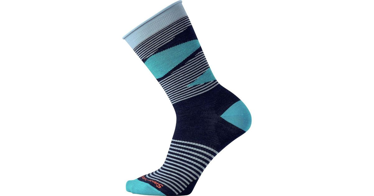 8731cb17c Lyst - Smartwool First Mate Non-binding Crew Sock in Blue