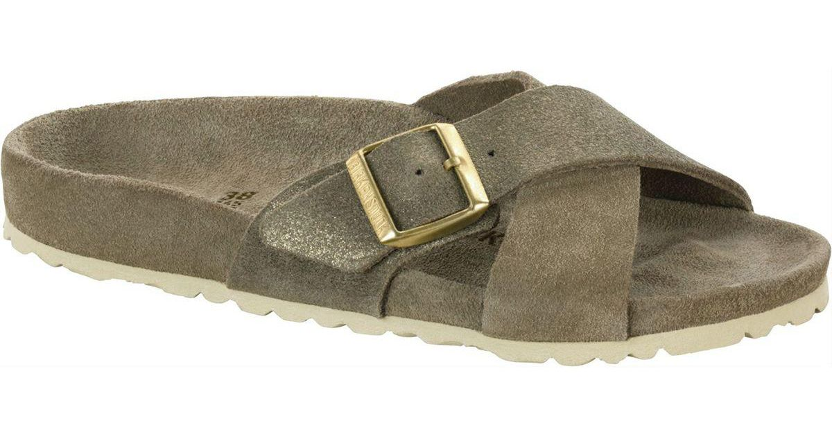 816488fd3ee Lyst - Birkenstock Siena Exquisite Limited Edition Suede Narrow Sandal