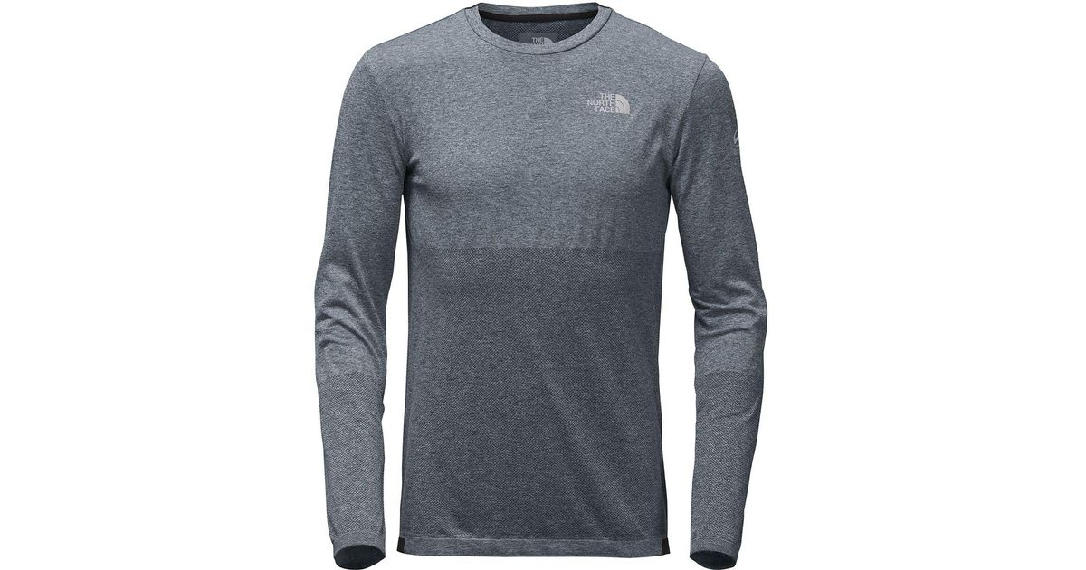 19704e0a56f6 Lyst - The North Face Summit L1 Engineered Long-sleeve Top in Gray for Men