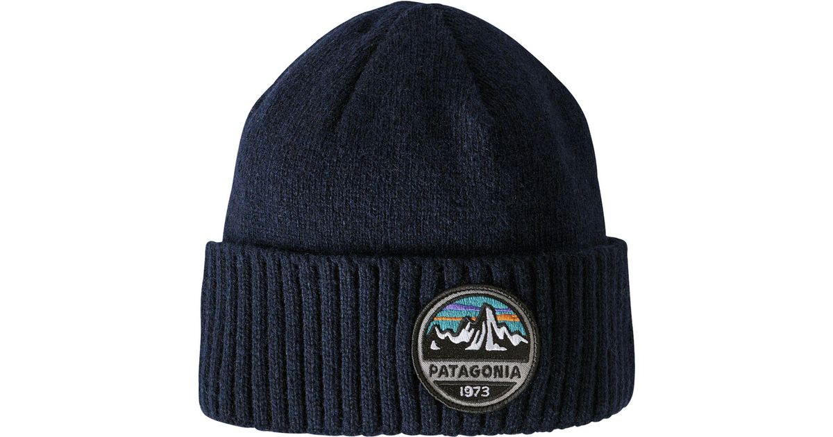 9ebad3b34dc Lyst - Patagonia Brodeo Beanie in Blue for Men