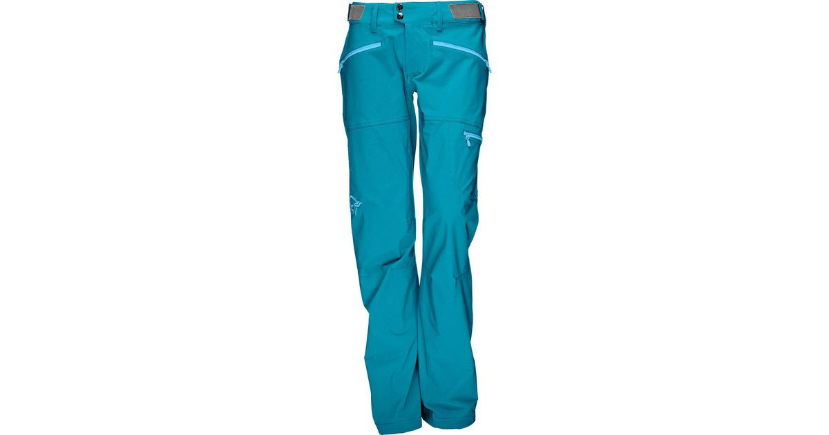 75506771cc4b0d Norrøna Falketind Flex1 Softshell Pant in Blue - Lyst
