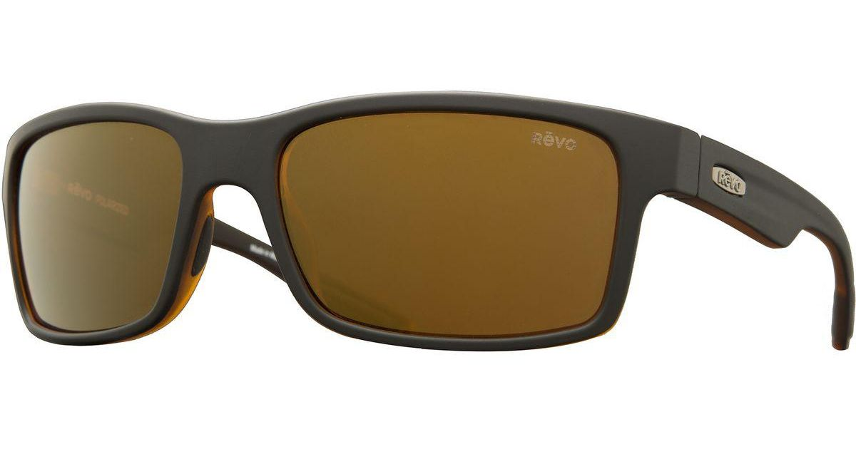 6dbc45179c Lyst - Revo Crawler Sunglasses - Polarized in Black for Men