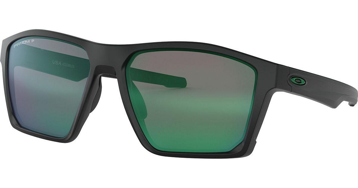 8bc21465fa Lyst - Oakley Targetline Prizm Polarized Sunglasses in Green for Men