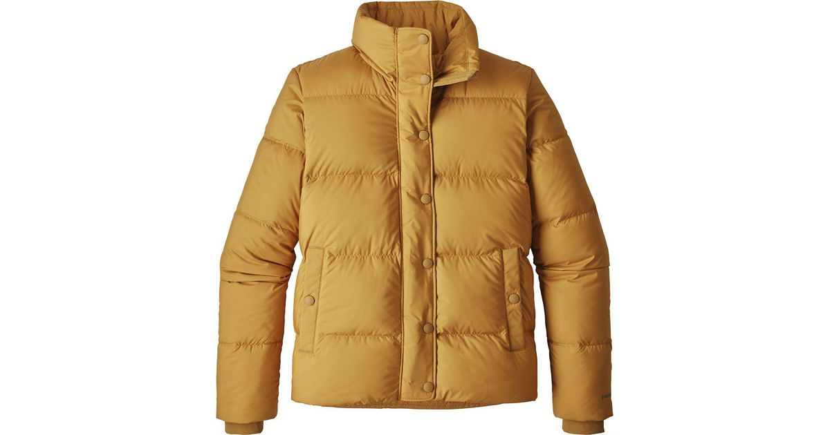 41132e59458 Patagonia Silent Down Jacket in Brown - Save 5% - Lyst