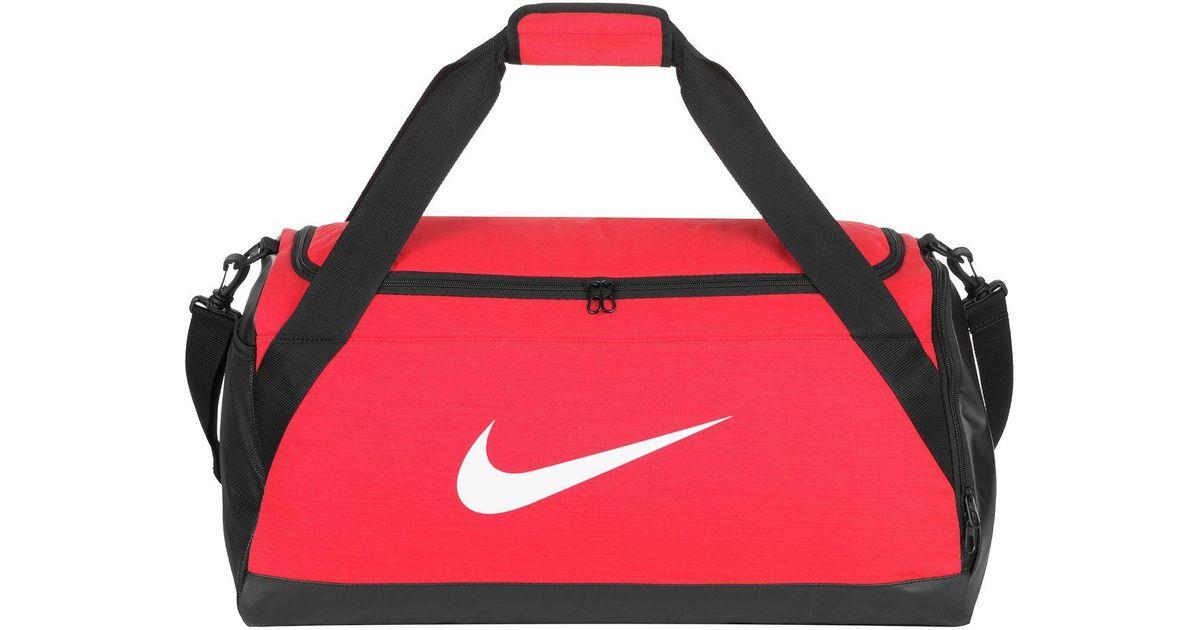 40765e6489 Lyst - Nike Brasilia 6 Medium 60l Duffel in Red for Men