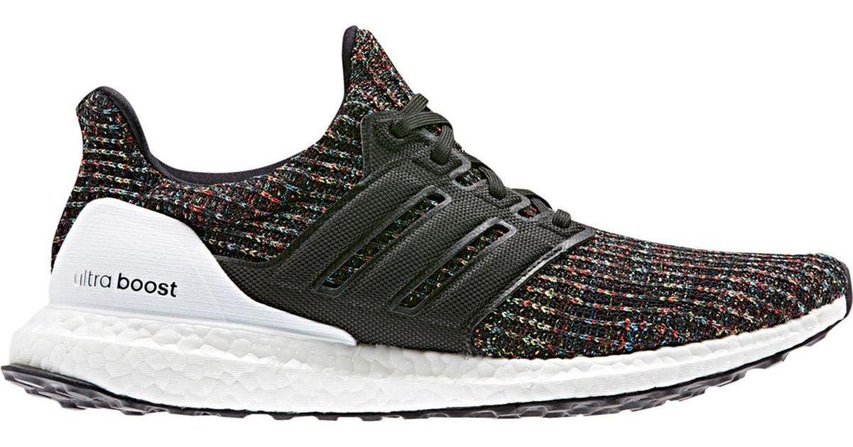 Adidas Black Ultraboost 18 Running Shoe for men