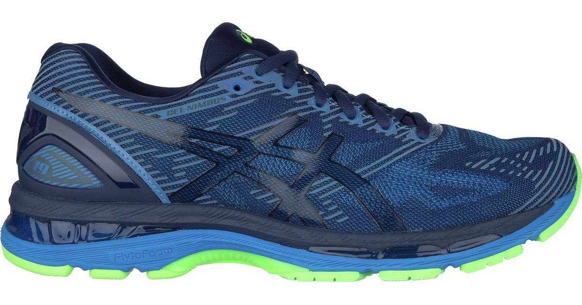 Lyst - Asics Gel-nimbus 19 Lite-show Running Shoe in Blue for Men bc842f66a6