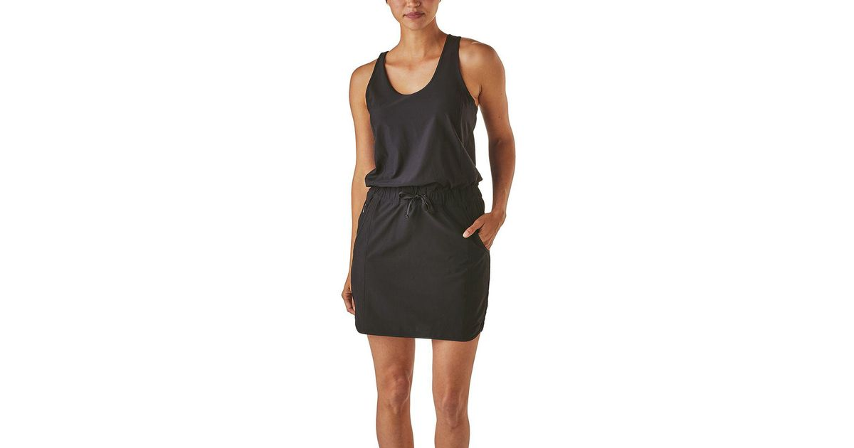 3be4e56901e3 Lyst - Patagonia Fleetwith Dress in Black