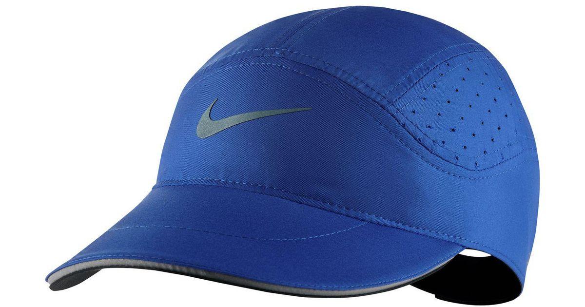 3bd0586113149 Nike Aerobill Elite Running Hat in Blue for Men - Lyst
