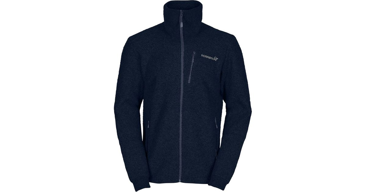 24a5917cb68a Lyst - Norrøna Svalbard Wool Jacket in Blue for Men