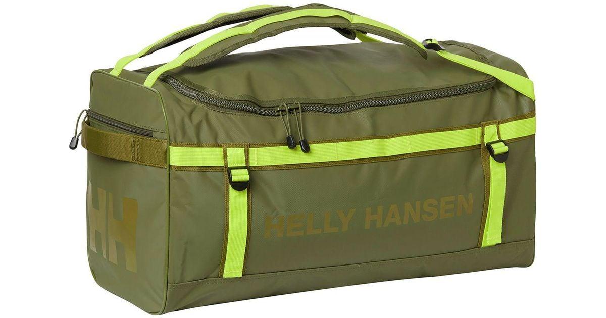 43fca0f848 Helly Hansen Classic 90l Duffel Bag in Green for Men - Lyst