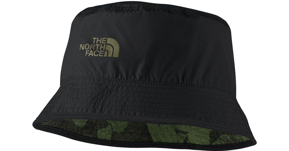 Lyst - The North Face Sun Stash Hat in Black for Men 1f5e7fddad1