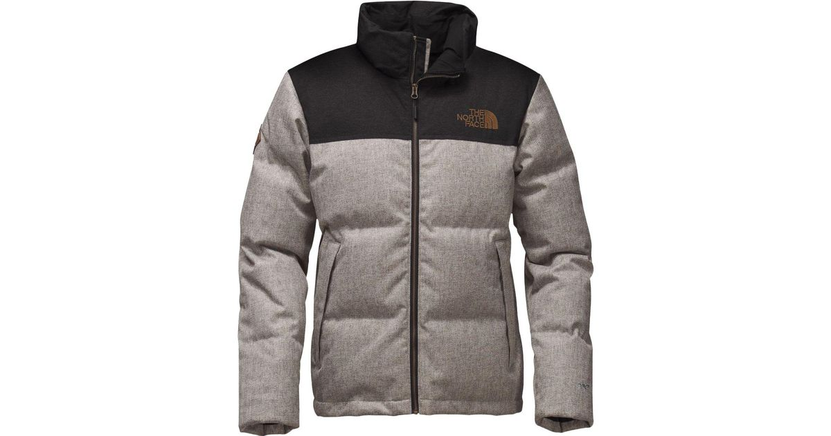 ... wholesale lyst the north face novelty nuptse down jacket in gray for men  0fd30 8249b 1c8f4f574